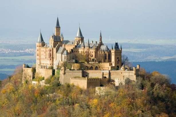 La vista dal Castello di Hohenzollern