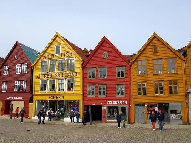 Case a Bergen in Norvegia