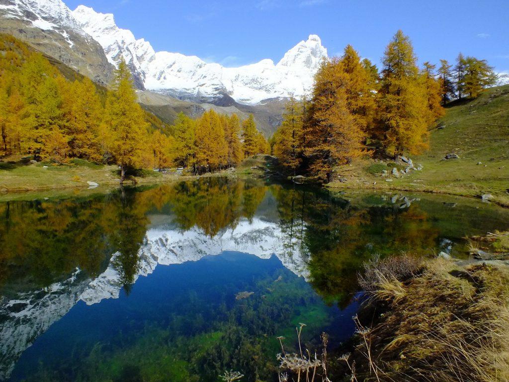 Lago Blue Valle D'Aosta